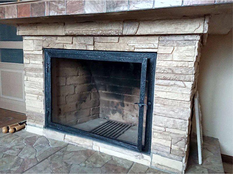 Термостойкое стекло для каминов ипечей